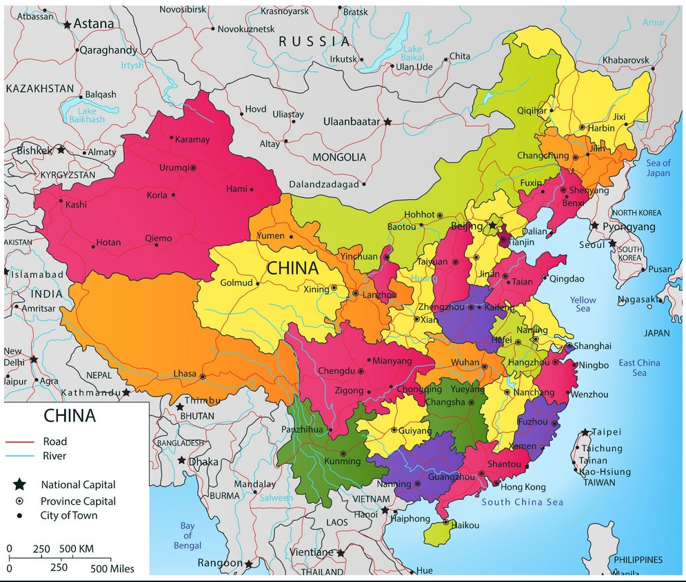 colorful-china-political-map-with-selectable-vector-10809792